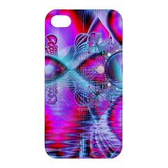 Crystal Northern Lights Palace, Abstract Ice  Apple Iphone 4/4s Premium Hardshell Case by DianeClancy
