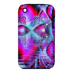 Crystal Northern Lights Palace, Abstract Ice  Apple Iphone 3g/3gs Hardshell Case (pc+silicone) by DianeClancy