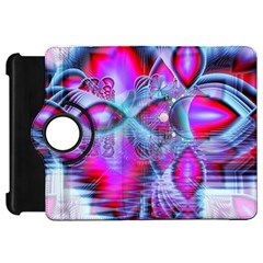 Crystal Northern Lights Palace, Abstract Ice  Kindle Fire Hd 7  (1st Gen) Flip 360 Case by DianeClancy