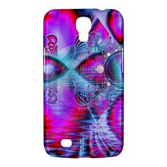 Crystal Northern Lights Palace, Abstract Ice  Samsung Galaxy Mega 6 3  I9200 Hardshell Case by DianeClancy