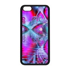 Crystal Northern Lights Palace, Abstract Ice  Apple Iphone 5c Seamless Case (black) by DianeClancy