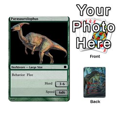 Mesozoic Hunter Cards By Michael   Playing Cards 54 Designs   3qbom8ya1v18   Www Artscow Com Front - Spade3