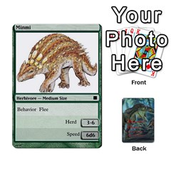 Mesozoic Hunter Cards By Michael   Playing Cards 54 Designs   3qbom8ya1v18   Www Artscow Com Front - Heart5