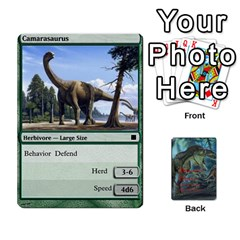 Ace Mesozoic Hunter Cards By Michael   Playing Cards 54 Designs   3qbom8ya1v18   Www Artscow Com Front - HeartA