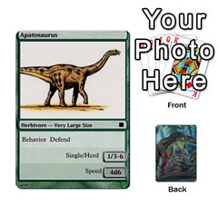 Mesozoic Hunter Cards By Michael   Playing Cards 54 Designs   3qbom8ya1v18   Www Artscow Com Front - Diamond4