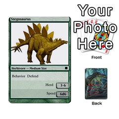 Mesozoic Hunter Cards By Michael   Playing Cards 54 Designs   3qbom8ya1v18   Www Artscow Com Front - Spade7