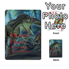 Mesozoic Hunter Cards By Michael   Playing Cards 54 Designs   3qbom8ya1v18   Www Artscow Com Back