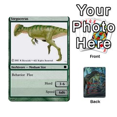 Mesozoic Hunter Cards By Michael   Playing Cards 54 Designs   3qbom8ya1v18   Www Artscow Com Front - Spade9