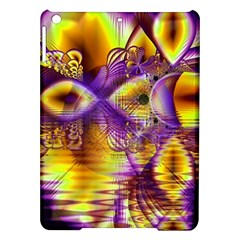 Golden Violet Crystal Palace, Abstract Cosmic Explosion Apple Ipad Air Hardshell Case by DianeClancy