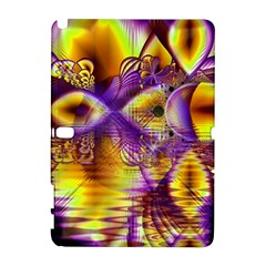 Golden Violet Crystal Palace, Abstract Cosmic Explosion Samsung Galaxy Note 10 1 (p600) Hardshell Case by DianeClancy