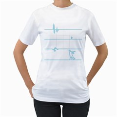 After The Flatline Women s T-Shirt (White)  by Contest1861806