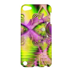 Raspberry Lime Mystical Magical Lake, Abstract  Apple Ipod Touch 5 Hardshell Case by DianeClancy