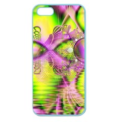 Raspberry Lime Mystical Magical Lake, Abstract  Apple Seamless iPhone 5 Case (Color)