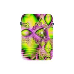 Raspberry Lime Mystical Magical Lake, Abstract  Apple Ipad Mini Protective Sleeve by DianeClancy