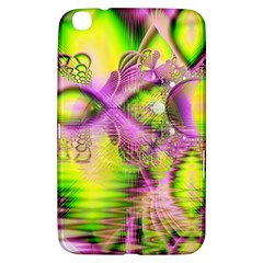 Raspberry Lime Mystical Magical Lake, Abstract  Samsung Galaxy Tab 3 (8 ) T3100 Hardshell Case  by DianeClancy