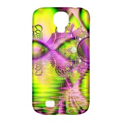 Raspberry Lime Mystical Magical Lake, Abstract  Samsung Galaxy S4 Classic Hardshell Case (pc+silicone) by DianeClancy