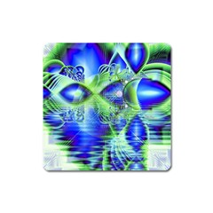 Irish Dream Under Abstract Cobalt Blue Skies Magnet (square) by DianeClancy
