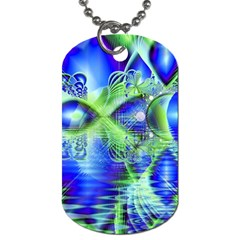 Irish Dream Under Abstract Cobalt Blue Skies Dog Tag (one Sided) by DianeClancy