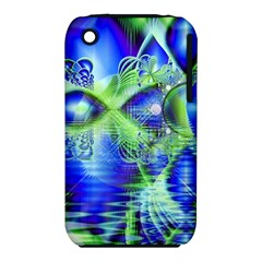 Irish Dream Under Abstract Cobalt Blue Skies Apple Iphone 3g/3gs Hardshell Case (pc+silicone) by DianeClancy