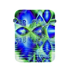 Irish Dream Under Abstract Cobalt Blue Skies Apple Ipad Protective Sleeve by DianeClancy