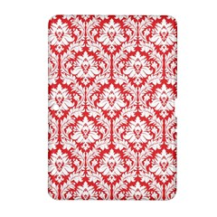 White On Red Damask Samsung Galaxy Tab 2 (10.1 ) P5100 Hardshell Case  by Zandiepants