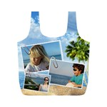 Holiday Recycle Bag (M) - Full Print Recycle Bag (M)