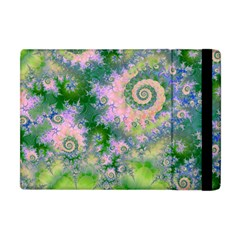 Rose Apple Green Dreams, Abstract Water Garden Apple Ipad Mini Flip Case by DianeClancy