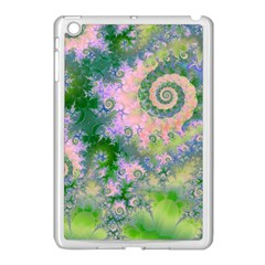 Rose Apple Green Dreams, Abstract Water Garden Apple Ipad Mini Case (white) by DianeClancy