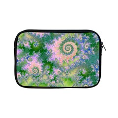 Rose Apple Green Dreams, Abstract Water Garden Apple Ipad Mini Zippered Sleeve by DianeClancy