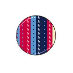 Giraffentapete Golf Ball Marker 10 Pack (for Hat Clip) by Siebenhuehner