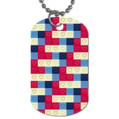 Hearts Dog Tag (two Sided)  by Siebenhuehner