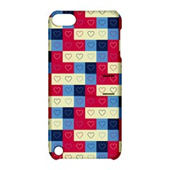 Hearts Apple Ipod Touch 5 Hardshell Case With Stand by Siebenhuehner