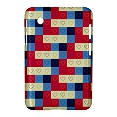 Hearts Samsung Galaxy Tab 2 (7 ) P3100 Hardshell Case  by Siebenhuehner