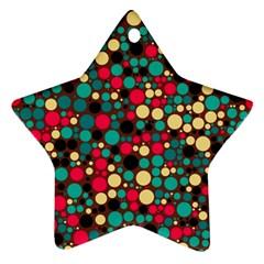 Retro Star Ornament (two Sides) by Siebenhuehner