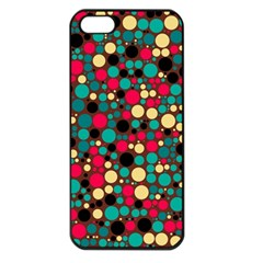 Retro Apple Iphone 5 Seamless Case (black) by Siebenhuehner