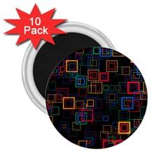Retro 2.25  Button Magnet (10 pack) by Siebenhuehner