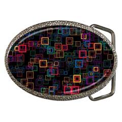 Retro Belt Buckle (oval)