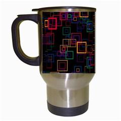 Retro Travel Mug (white) by Siebenhuehner