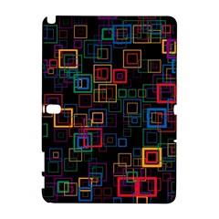 Retro Samsung Galaxy Note 10 1 (p600) Hardshell Case by Siebenhuehner