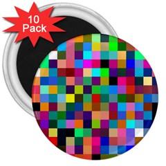 Tapete4 3  Button Magnet (10 Pack) by Siebenhuehner