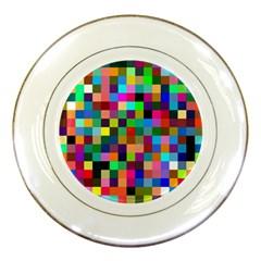 Tapete4 Porcelain Display Plate by Siebenhuehner