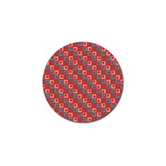 Retro Golf Ball Marker 10 Pack by Siebenhuehner