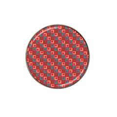 Retro Golf Ball Marker (for Hat Clip) by Siebenhuehner