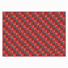 Retro Glasses Cloth (large, Two Sided) by Siebenhuehner