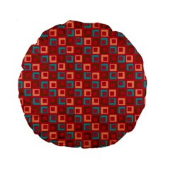 Retro 15  Premium Round Cushion  by Siebenhuehner