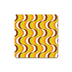 Retro Magnet (square) by Siebenhuehner
