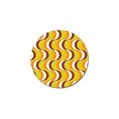 Retro Golf Ball Marker 10 Pack by Siebenhuehner