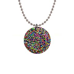 Color Button Necklace by Siebenhuehner