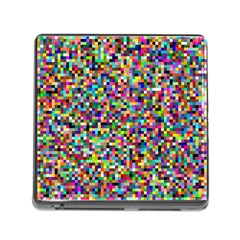 Color Memory Card Reader With Storage (square) by Siebenhuehner