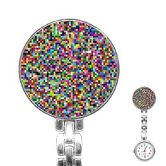 Color Stainless Steel Nurses Watch by Siebenhuehner